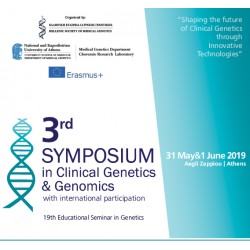 3rd Symposium in Clinical Genetics with international participation